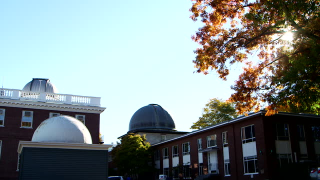 harvard-smithsonian center for astrophysics, boston, ma - wop productions stock-videos und b-roll-filmmaterial