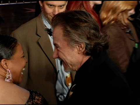 harvey keitel at the 'be cool' los angeles premiere at grauman's chinese theatre in hollywood, california on february 14, 2005. - ハーヴェイ カイテル点の映像素材/bロール