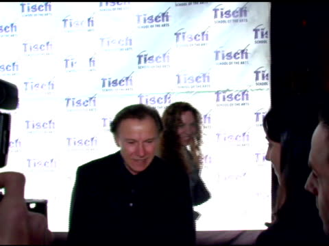 harvey keitel at the 'on location: tisch ny gala' dinner benefitting tisch school of the arts and the kanbar institute of film and television at... - ハーヴェイ カイテル点の映像素材/bロール
