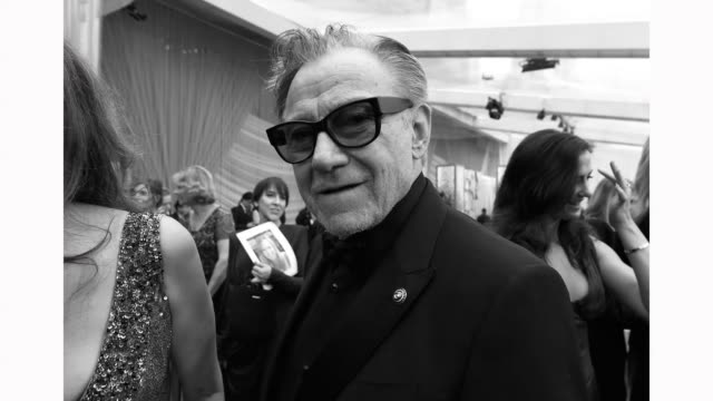 harvey keitel attends the 92nd annual academy awards at hollywood and highland on february 09, 2020 in hollywood, california. - ハーヴェイ カイテル点の映像素材/bロール