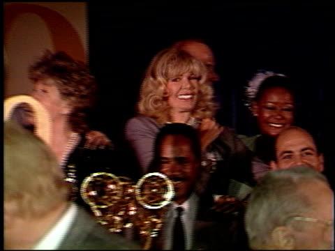 vídeos de stock, filmes e b-roll de harvey korman at the 1988 emmy awards dinner at the four seasons hotel in los angeles california on august 23 1988 - four seasons hotel