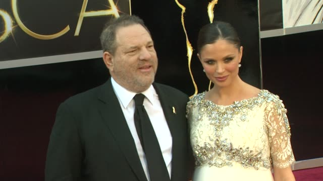 harvey weinstein at 85th annual academy awards - arrivals on 2/24/13 in los angeles, ca . - academy awards stock videos & royalty-free footage