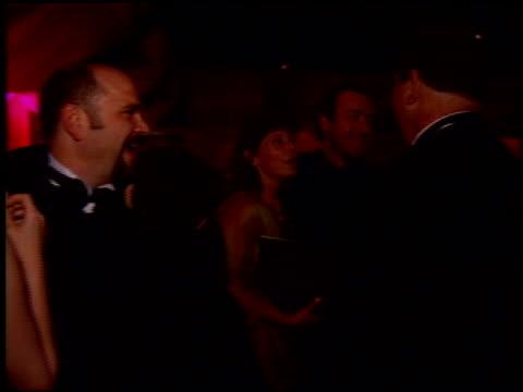 harvey weinstein at the 1997 academy awards governor's ball at the shrine auditorium in los angeles, california on march 24, 1997. - oscarsgalan 1997 bildbanksvideor och videomaterial från bakom kulisserna