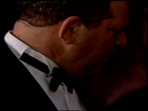 harvey weinstein at the 2004 academy awards ballroom at the kodak theatre in hollywood, california on february 29, 2004. - academy awards video stock e b–roll