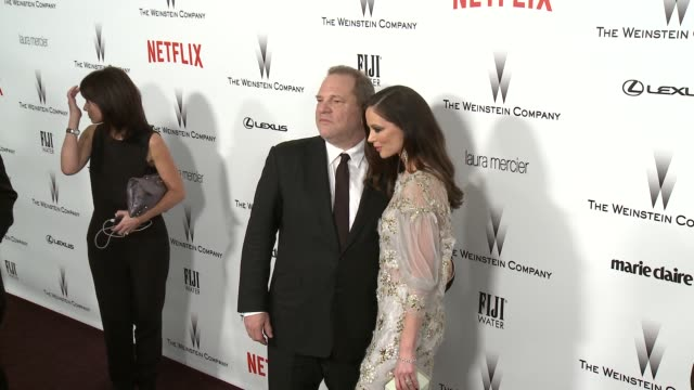 Harvey Weinstein at the 2015 Weinstein Company And Netflix Golden Globe After Party at Robinsons May Lot on January 11 2015 in Beverly Hills...