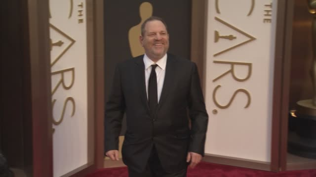 harvey weinstein at the 86th annual academy awards - arrivals at hollywood & highland center on march 02, 2014 in hollywood, california. - academy awards video stock e b–roll