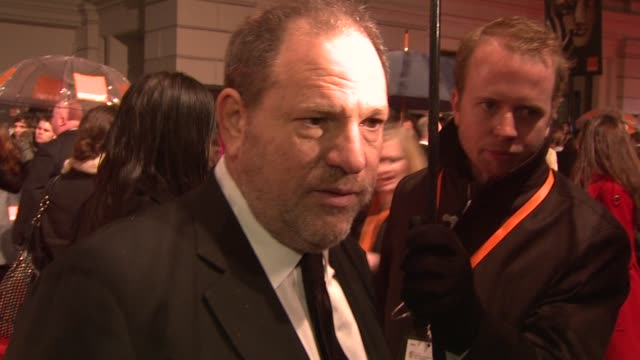 Harvey Weinstein at the The Orange British Academy Film Awards at London