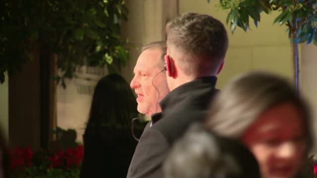 Harvey Weinstein sexual abuse allegations Condemnation continues R14021604 / 1422016 Weinstein posing for photocall as arriving for the 2016 BAFTA...