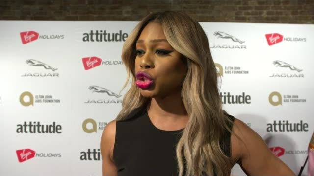 Harvey Weinstein sexual abuse allegations US and UK police launch investigations ENGLAND London Attitude Legacy Award INT Laverne Cox red carpet...