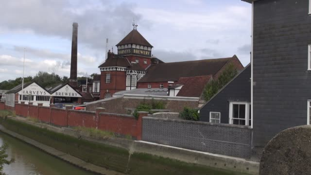 harveys based in lewes sussex is one of the oldest independent breweries in the united kingdom and was founded in 1790 brewery ws featuring river... - 18th century stock videos & royalty-free footage