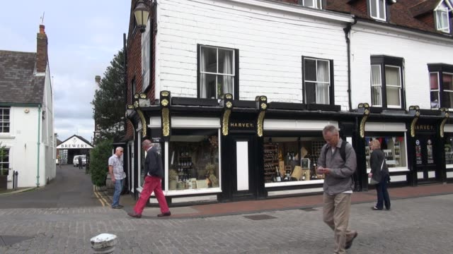 harveys based in lewes sussex is one of the oldest independent breweries in the united kingdom and was founded in 1790 brewery ws harveys shop lewes... - 18th century stock videos & royalty-free footage