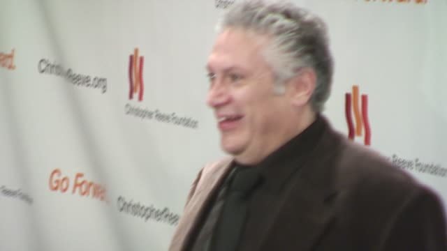 harvy fierstein at the christopher reeve foundation celebration of the strength and courage of christopher and dana reeve with a magical evening at... - christopher and dana reeve foundation stock videos and b-roll footage