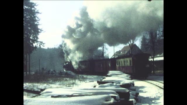 Harz Narrow Gauge Railways in 1978 (GDR)