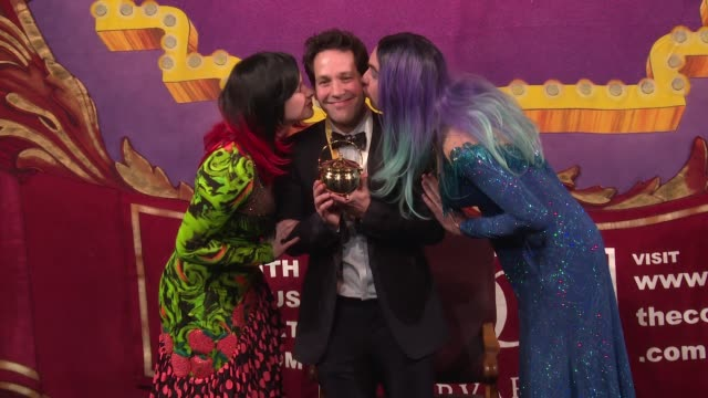 CLEAN Hasty Pudding Theatricals Honors Paul Rudd as 2018 Man Of The Year at Farkas Hall on February 02 2018 in Cambridge Massachusetts