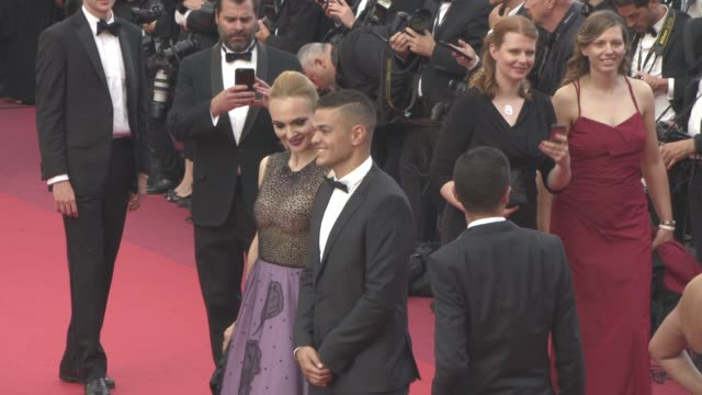 hatem ben arfa at guest at 'loving' red carpet at grand theatre lumiere on may 16 2016 in cannes france - grand theatre lumiere stock videos & royalty-free footage