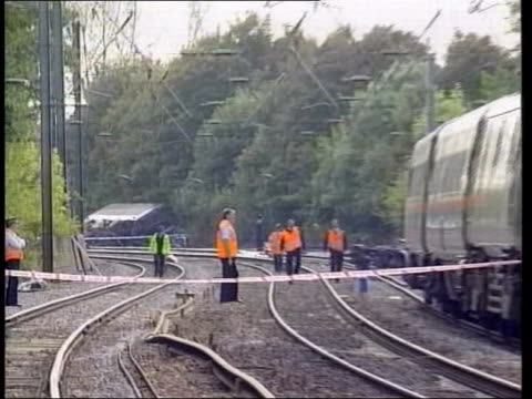 manslaughter charges derailed train - hatfield stock videos and b-roll footage