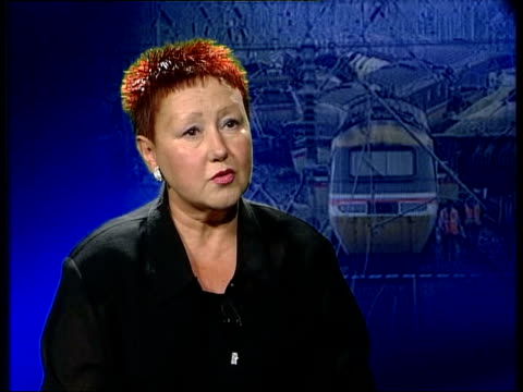 manslaughter charges itn london gir maureen kavanagh interview sot - hatfield stock videos and b-roll footage