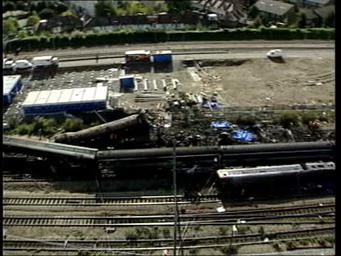 manslaughter charges lib southall aftermath of rail crash - hatfield stock videos and b-roll footage