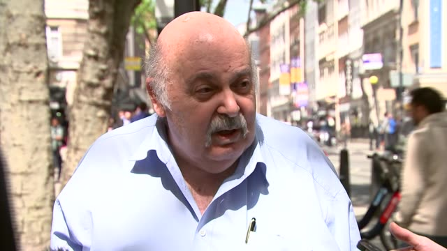 vidéos et rushes de hatton garden safety deposit box raid: uninsured victims unlikely to receive compensation; hatton garden: harry levy speaking to press harry levy... - pince chirurgicale
