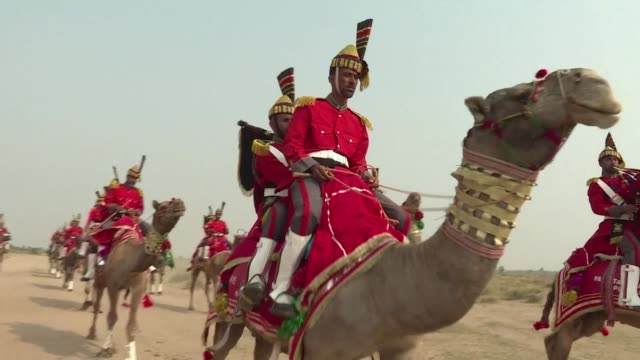 A haunting peal reminiscent of the Scottish Highlands reverberates across Pakistans inhospitable Cholistan desert as the nations first camel mounted...