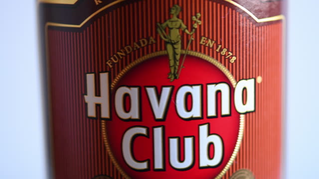 havana club is a brand of rum created in cuba in 1934 and now one of the bestselling rum brands in the world - rum stock videos and b-roll footage