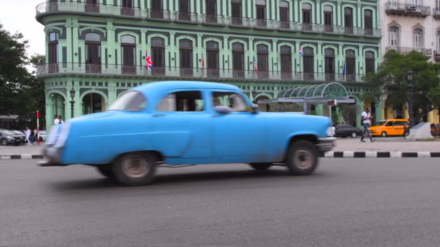 Havana Cuba: Old Cars in Central Havana