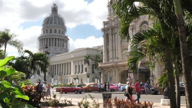 havanna centro - kuba stock-videos und b-roll-filmmaterial