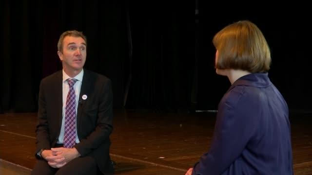 havering headteacher heads to australia to recruit new teachers; england: london: havering: int stuart mclaughlin interview sot - head teacher stock videos & royalty-free footage