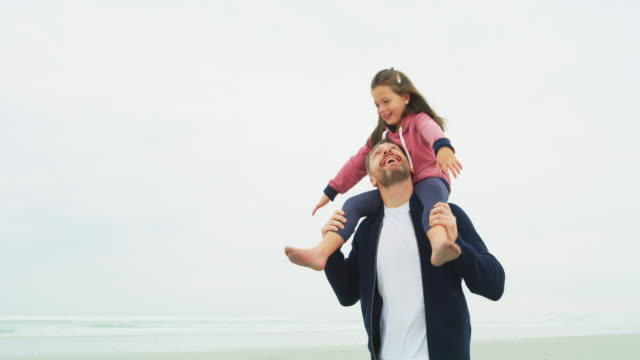 having a daddy daughter day - carefree stock videos & royalty-free footage