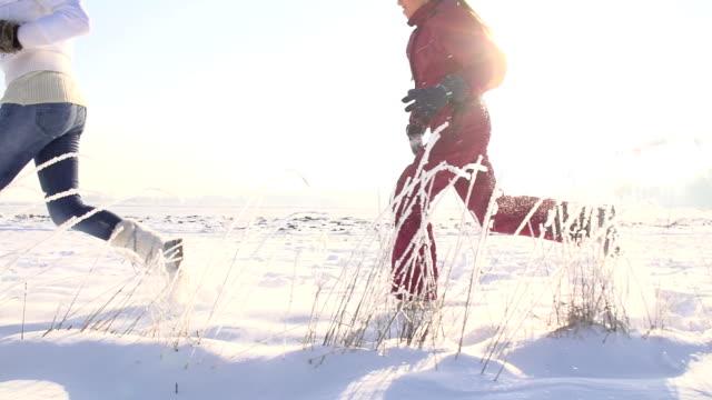 SLO MO Spaß Rennen im Schnee