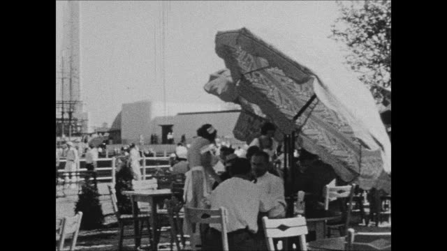 havoline thermometer building at 1933 chicago world's fair - chicago world's fair stock videos and b-roll footage