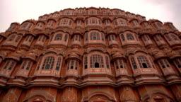 Hawa Mahal palace or Palace of the Winds in Jaipur city, India.