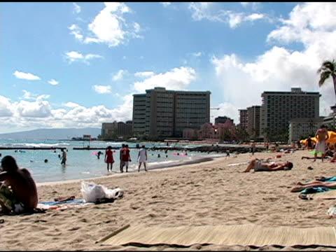 ハワイのビーチ 1