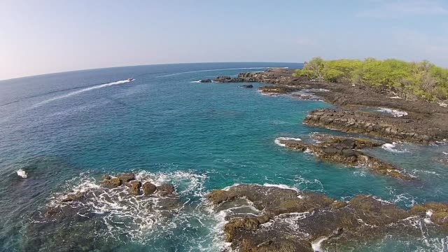 hawaii coast ariel drone - 1959 stock videos & royalty-free footage