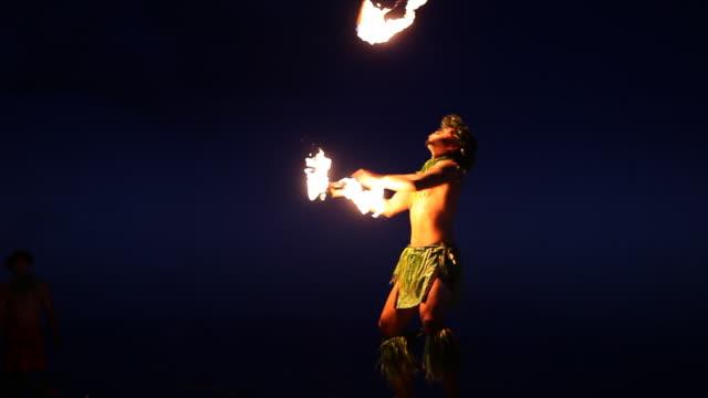 Hawaii Fire Dancer