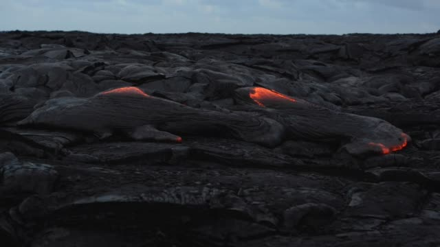hawaii lava flow - north pacific stock videos & royalty-free footage