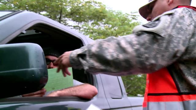 hawaii national guard soldiers and airmen canvass the communities of upper puna hawaii passing out informational material and speaking with residents... - volcanic crater stock videos & royalty-free footage