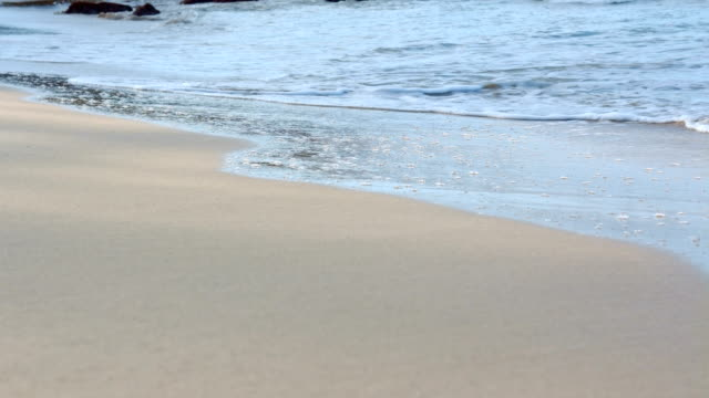 Hawaii Poipu Beach Waves Lap Kauai Hawaii
