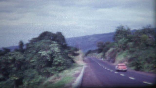 hawaii road vintage 1960's - 1950 stock videos & royalty-free footage