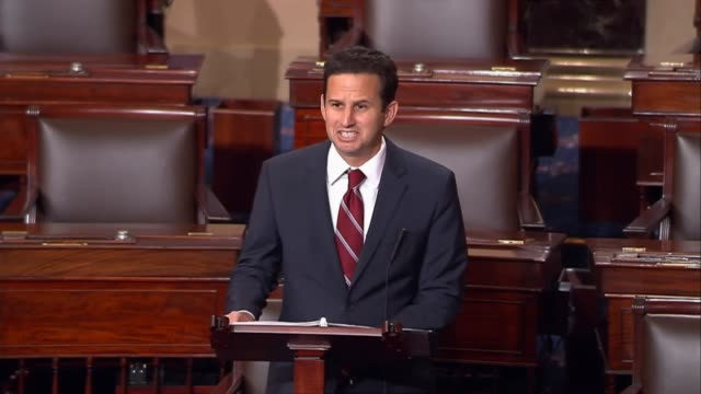 hawaii senator brian schatz refers to the japanese interment policy of president franklin roosevelt, quoting mark twain that history rhymes,... - mark twain stock videos & royalty-free footage