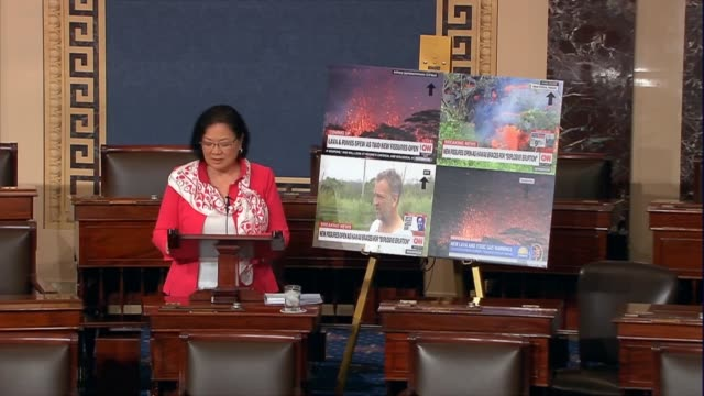 stockvideo's en b-roll-footage met hawaii senator mazie hirono says that hawaii residents had dependent on the internet to access lifesaving information and communicate with friends... - afhankelijkheid