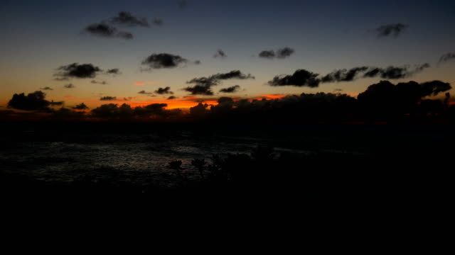 hawaii sunset - saturated colour stock videos & royalty-free footage