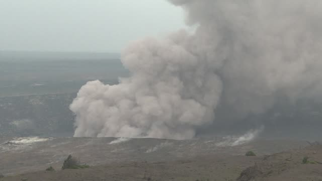 hawaii volcano that has been oozing lava and burping steam for days may be gearing up for a huge eruption scientists have warned prompting the... - burping stock videos & royalty-free footage