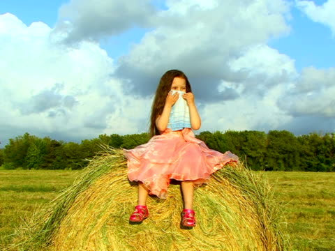 hay fever allergy - hay fever stock videos and b-roll footage