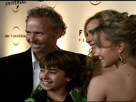 Hayden Panettiere and family at the NBC Universal and Focus Features 2007 Golden Globes Party on January 15 2007