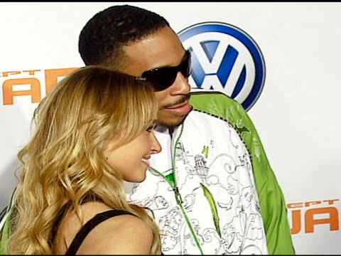 Hayden Panettiere and Ludacris at the US Premiere of Concept Car Tiguan Presented By Volkswagen at Raleigh Studios in Hollywood California on...