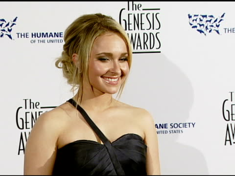 Hayden Panettiere at the 2008 Genesis Awards at the Beverly Hilton in Beverly Hills California on March 30 2008