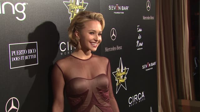 Hayden Panettiere at the 4th Annual Hollywood Domino Gala at West Hollywood CA