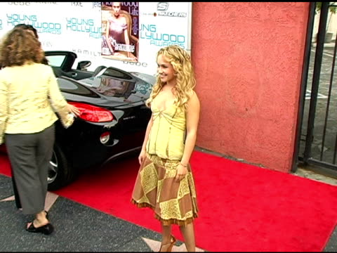 Hayden Panettiere at the Hollywood Life's Young Hollywood Awards and AfterParty Sponsored by Axe on May 1 2005