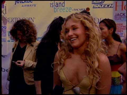 Hayden Panettiere at the Movieline Young Hollywood Awards at the Fonda in Hollywood California on May 1 2005
